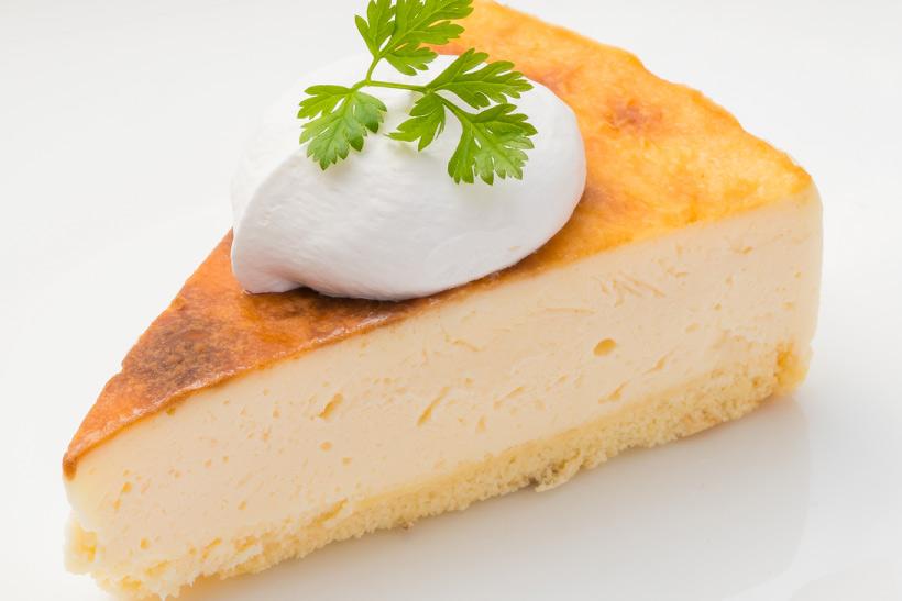 バスクの焦がしチーズ