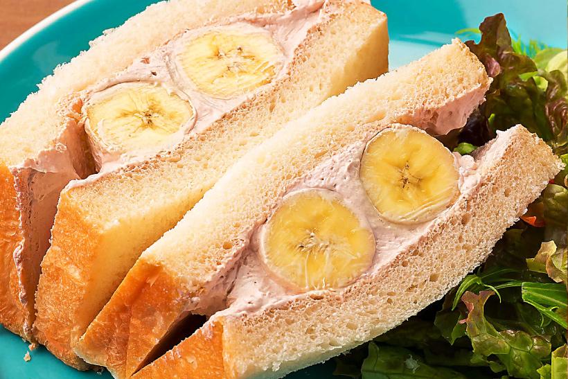 バナナ&チョコホイップサンド