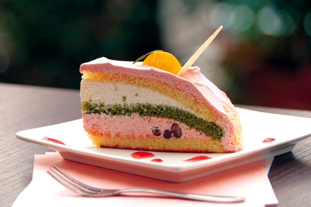 大阪-堺-大美野-喫茶店-カフェ-大山珈琲-ケーキ-桜のズコット-cake-cafe