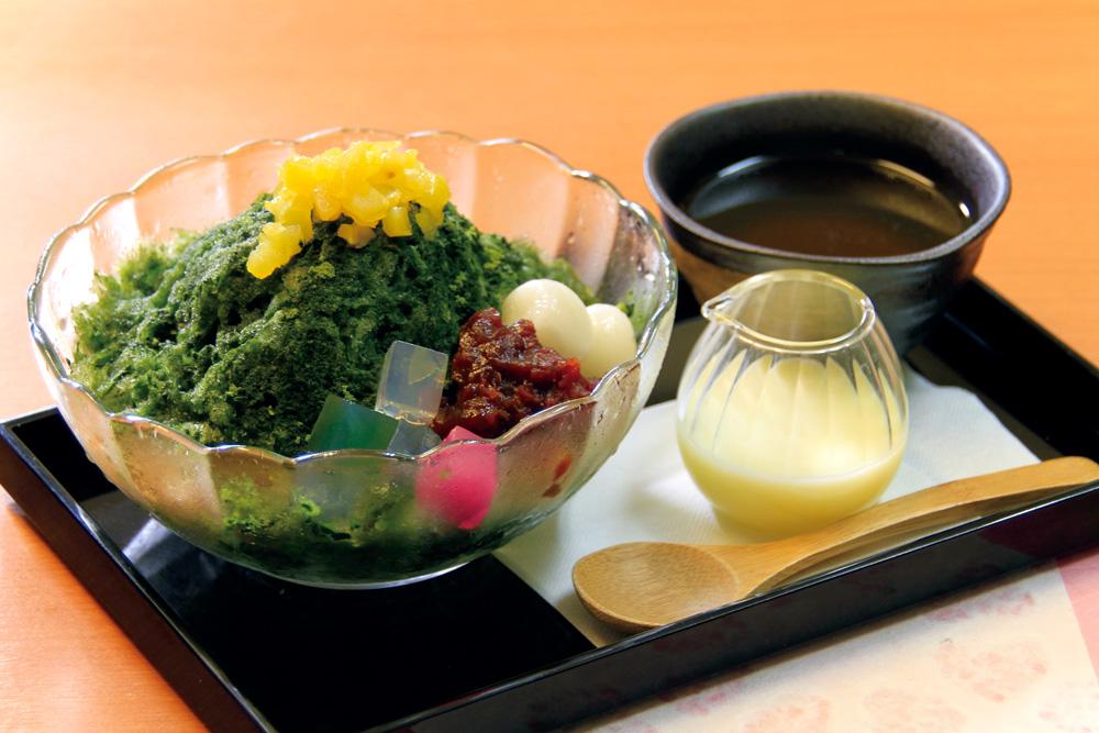 喫茶店-カフェ-大山珈琲-大阪-堺-かき氷-いちご-cafe-coffee