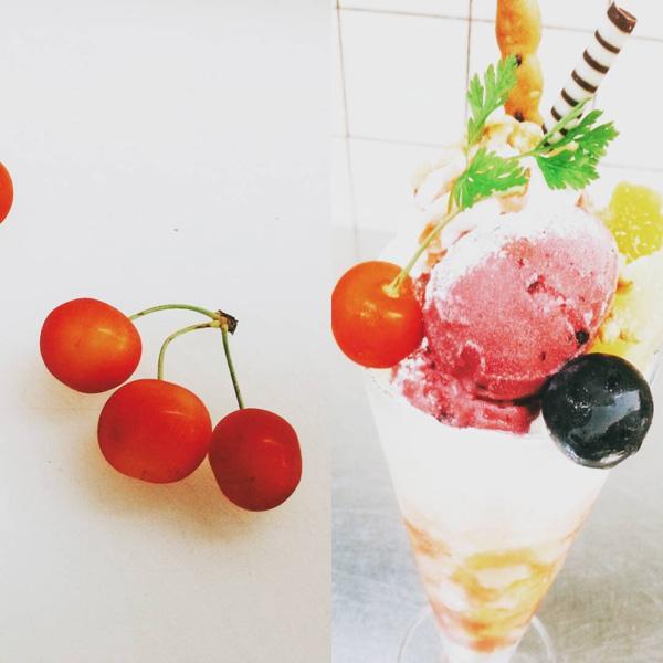 喫茶店-カフェ-大山珈琲-大阪-堺-フルーツ-パフェ-チョコ-cafe-coffee