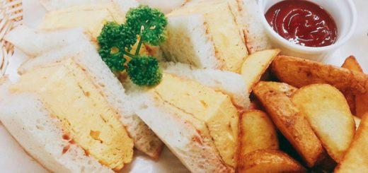 喫茶店-カフェ-大山珈琲-大阪-堺-厚焼き玉子サンド-サンドウィッチ-ランチ-cafe-coffee