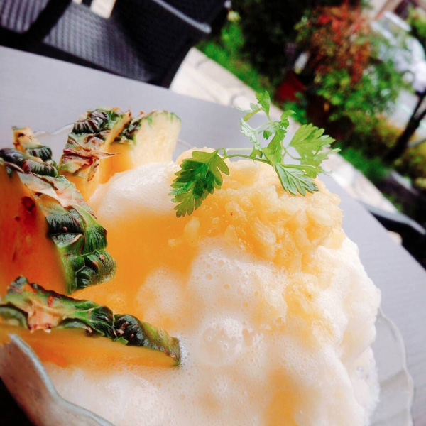 喫茶店-カフェ-大山珈琲-大阪-堺-かき氷-完熟パイン-cafe-coffee