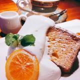 大山珈琲のシフォンケーキです。